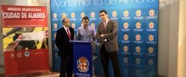 Rueda de Prensa XVII Medio Maratón Ciudad de Almería 30-01-2014